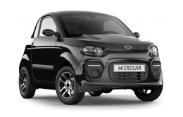 MICROCAR DUE 6 PLUS Noir Intense avant